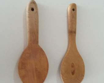 Wooden Cooking Spoons/ Wooden Utensils/Serving Spoons/Joyce Chen/ JUST REDUCED By Gatormom13