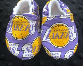 Los Angeles Lakers Crib Shoes / Slippers