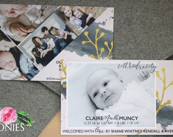 Birth Announcements - New Baby - Baby Announcements