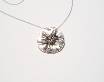 "Fine Silver ""Wonders of Nature"" Pendant"