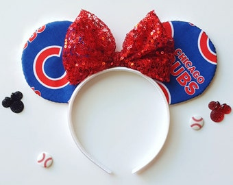 Chicago Cubs Mouse Ears
