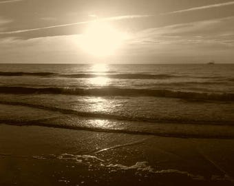 Morning Sunrise at Jekyll Island