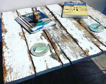 Rustic Modern Reclaimed Wood Coffee Table, Hairpin Legs, Barn, Farm, Farmhouse, Distressed, Industrial