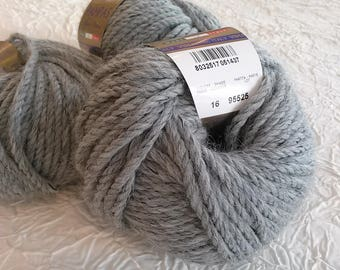 wool and alpaca steel gray Pearl. 50 g FILATURA DI Christian quality PAMPAS.