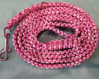 Paracord Dog Leash 6ft-Ready to Ship