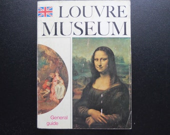 Vintage 1975 Guidebook: The Louvre Museum