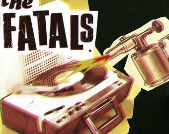 """25 cm / 10 """"Vinyl The Fatals - fatal - new"""