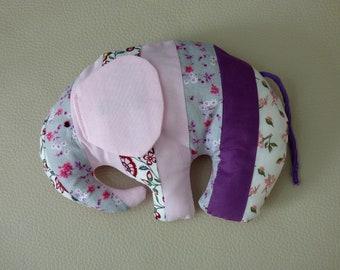 Plush elephant Ursula/Elephant plush fabric