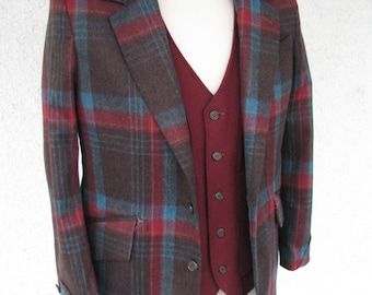 1920s Style Plaid Jackets---Custom Made in Your Style
