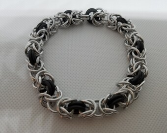 Byzantine bracelet 8in