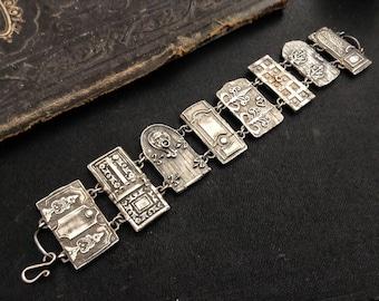 Petite Door Panel Bracelet sterling silver