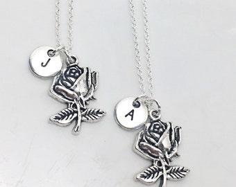 925 Sterling silver,2 Best friend necklace, personalized friendship necklace, best friend necklace, 2 BFF necklace, BFF jewelry,Best Friends