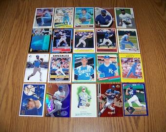 100 Kansas City Royals Baseball Cards