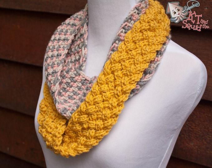 crochet infinity scarf pattern. crochet pattern, scarf pattrn, womens scarf pattern, braided scarf pattern, crochet scarf