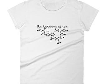 Oxytocin Women's short sleeve t-shirt