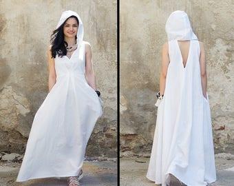 Linen Festival Dress, Elven Clothing, Linen Maxi Dress, Linen Maternity Dress, Gypsy Dress, Pixie Dress, Linen Boho Dress, Boho Clothing