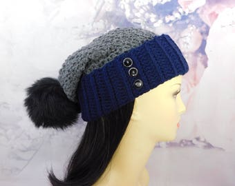 Women's slouchy hat perfect for the winter