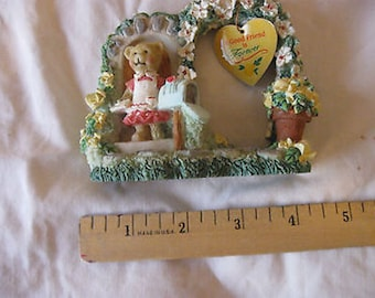 Paula's Cherished Treasures Teddy Figurine A Good Friend is Forever CL23-8