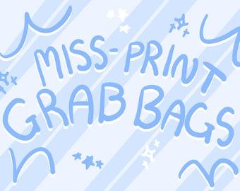 MYSTERY Miss-Print Grab bags