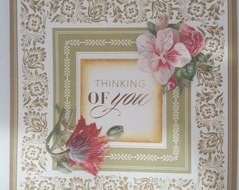 THinking of You/ Get well greeting card