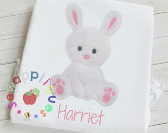 Pasen baby konijntje stoffen borduurwerk ontwerpen 3 maten