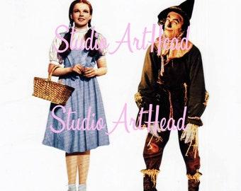 Paper House Wizard of Oz Cardstock Die Cuts