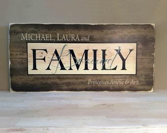 Established Sign, Home Established Sign, Wedding Gift Last Name Established, Family Established, Wedding Established Sign, Rustic Wood Sign