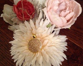 Sparklet Gold pendant