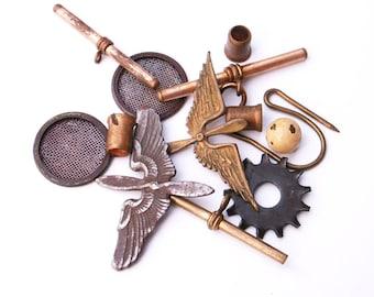 Steampunk fournitures métal rustique altéré bijoux d'Art de faire des projets d'artisanat