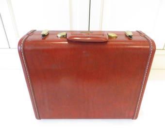 Samsonite Caramel Brown Small Suitcase - Caramel Brown Samsonite Luggage