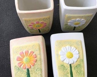 4 Herb /Flower Pots