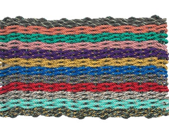 Recycled Lobster Rope Doormat | The Casco Bay