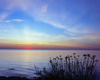"Sunrise, Photographic Print (matted 8x10"")"