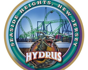 Seaside Heights - Hydrus (Jersey Shore) Wood Plaque / Sign