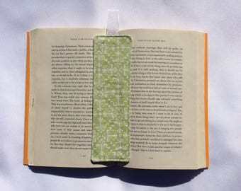 Green Modern Fabric Bookmark