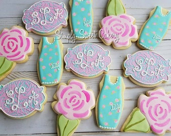 Lilly inspired cookies