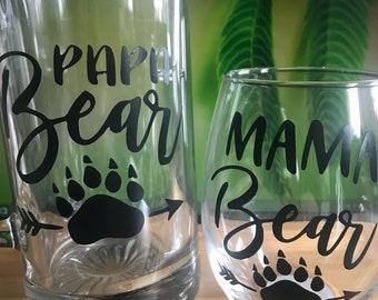 Mama and papa bear set!
