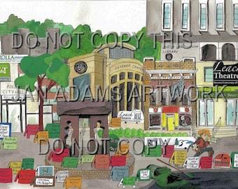 GRADUATION - ROLLA Science & Technology - Watercolor Painting Graduation Gift Full of Memories Missouri Retirement HouseWarming