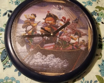 Garfield and Friends Wall Clock