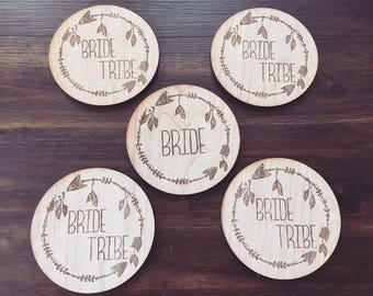 """Bride """"Tribe"""" Coasters"""