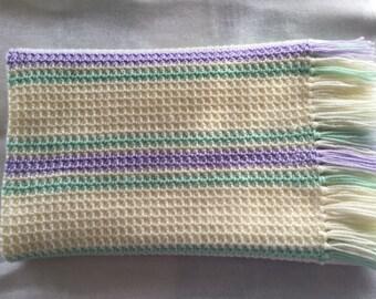 Baby Girl Crocheted Blanket