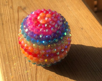 Rainbow Iridescent EOS Lip Balm