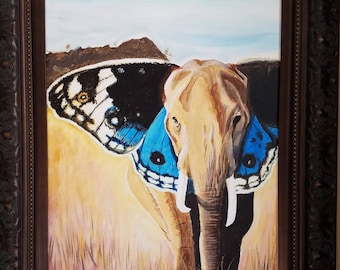 Custom nature painting