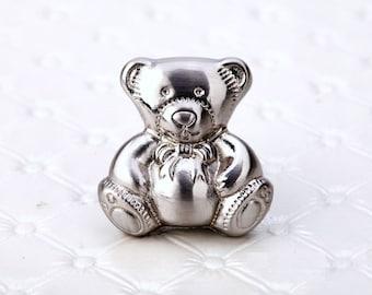 Children Drawer Knobs Pulls Handles Kids Dresser Knob Little Bear Baby Animal Decorative Knobs / Cabinet Knobs Handle Pull Kid Room Hardware