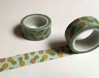 Pineapple Washi Tape Tropical Planner Organizer 15mm kawaii Scrapbooking 5M Stickers