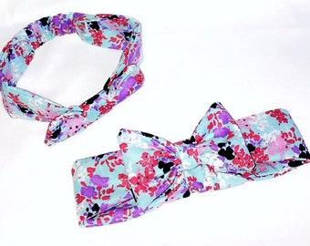Baby girls Headband with bow