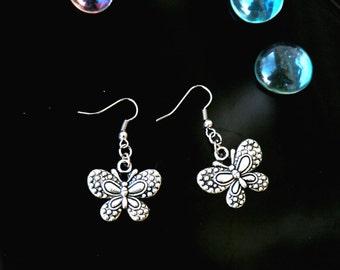 Butterfly earrings Boho earrings Unique butterfly earrings Everyday earrings Butterfly Jewelry Summer earrings girls teens jewelry
