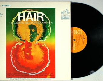 Hair (1968) Vinyl LP; Original Broadway Cast Soundtrack, Aquarius