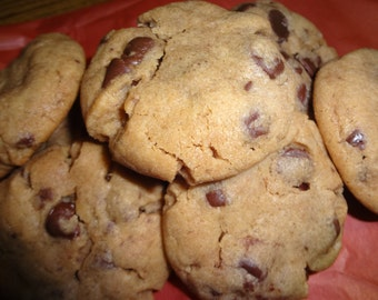 Homemade Super Soft Peanut Butter Chocolate Chip Cookies (6 Dozen)