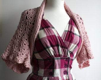 Crochet PATTERN  bolero crochet pattern, women, girls shrug crochet pattern (138)  INSTANT DOWNLOAD